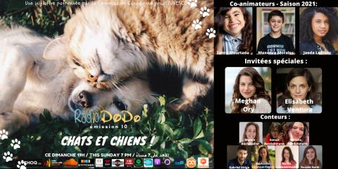 Émission 09: «Chats et Chiens»