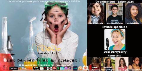 Émission 10: Les Petites Filles en Science !